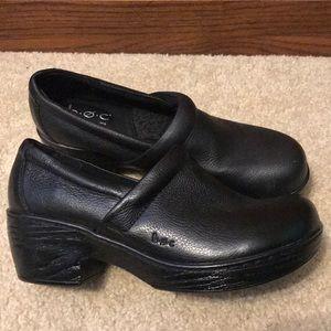 Born Concept Black Heels (clogs)